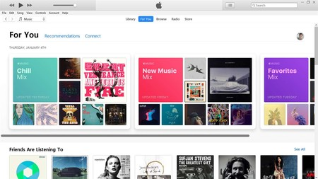 La app oficial de iTunes ya puede descargarse en Windows 10