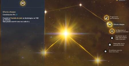 Constelaciones de Ninguang en Genshin Impact