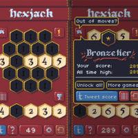 Hexjack, la adicción de juntar fichas en un tablero vuelve con estilo retro