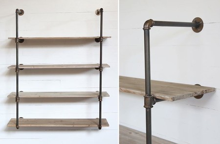 Creative Ideas Pipe Shelving Exquisite Decoration Industrial Shelf