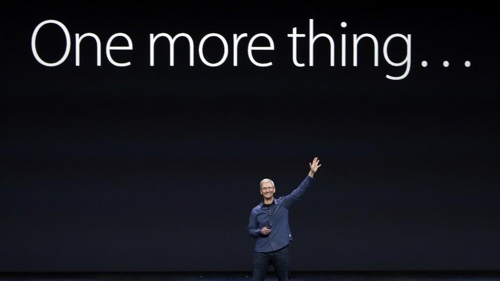Un usuario de Twitter sugiere que habrá un 'One More Thing' en el evento de Apple del día 10