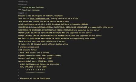 Terminal IRC