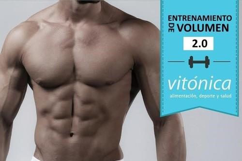 Entrenamiento de volumen 2.0: séptima rutina semanal (VIII)