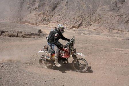 Terminó la aventura de Ignacio Chivite y su Bultaco en el Dakar