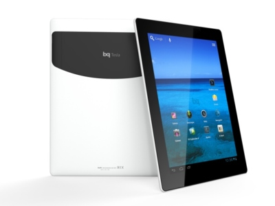 La bq Tesla llega al mercado con pantalla IPS y Android 4.0
