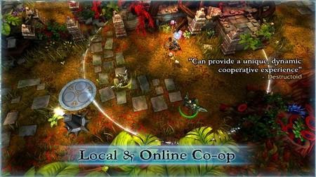 El RPG de acción cooperativa 'FORCED' celebra su debut en Steam