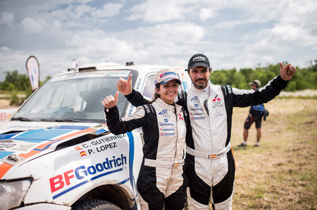 """Cristina Gutiérrez: """"Lo más duro del Dakar son las etapas de enlace a baja velocidad"""""""