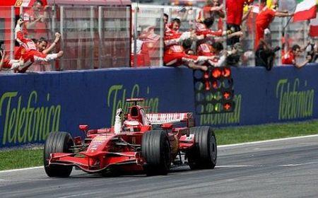 Doblete de Ferrari y abandono de Alonso en el Circuit de Catalunya