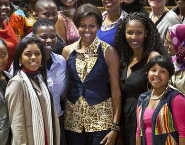 Yo llevo, tú llevas, ella (Michelle Obama) lleva Asos