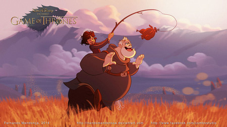 Game Of Thrones Disney Style Illustration Combo Estudio 5 5aafaa9023bbf 880