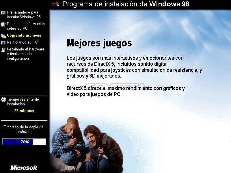 Foto de Programa de instalación de Windows 98 (7/10)