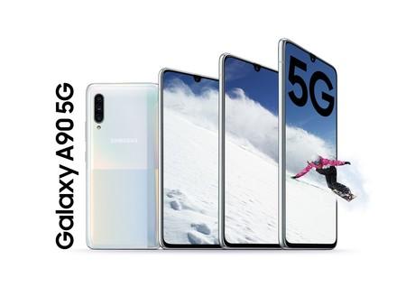 """Galaxy A90 5G: el nuevo gama alta """"barato"""" de Samsung no solo viene con Snapdragon 855, también con 5G"""