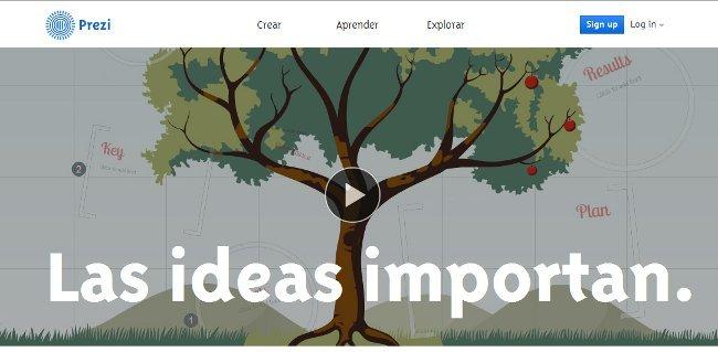 Prezi crece al ritmo del millón de usuarios nuevos al mes añade páginas en español