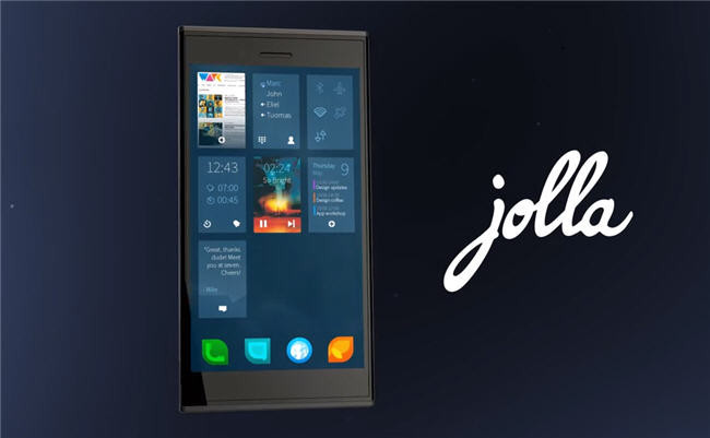 Jolla smartphone con Sailfish OS