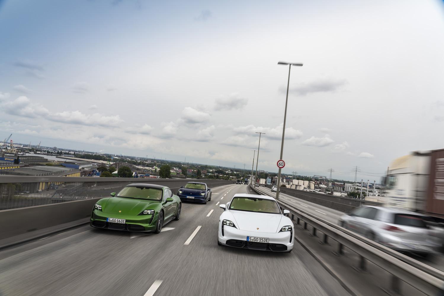 Foto de Porsche Taycan prueba contacto (126/275)