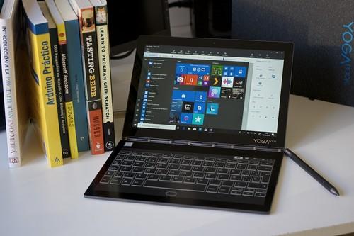 Lenovo Yoga Book C930, análisis: vivir con un dispositivo del futuro es excitante pero también agotador