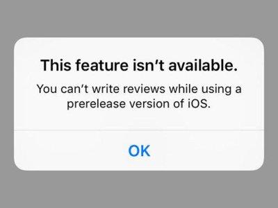 ¿Usas una beta de iOS 9? Olvídate de reseñar aplicaciones hasta que llegue la versión estable
