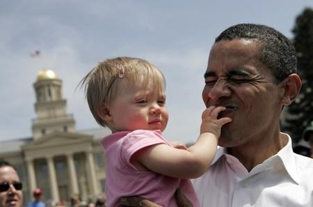 """""""Barack"""" y """"Obama"""", los nombres de moda en Estados Unidos"""