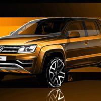El Volkswagen Amarok se renueva y estos son los primeros bocetos