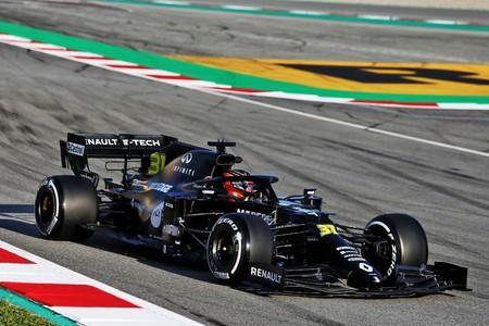 Ocon Barcelona F1 2020