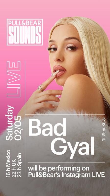 Bad Gyal dará un concierto esta noche en el Instagram de Pull&Bear para que podamos bailar desde casa en cuarentena