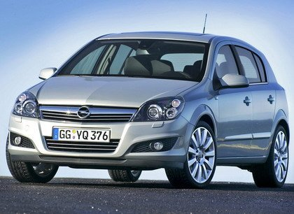 Opel Astra restyle 2007