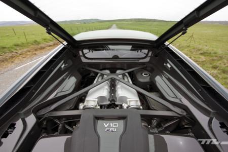 Bye, bye V8. La nueva versión de acceso del Audi R8 podría montar el V6 biturbo del Panamera S