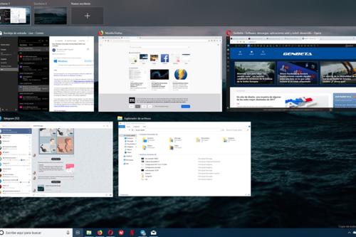 Cómo probar la nueva función 'Timeline' en Windows 10