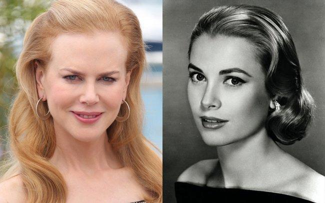 Nicole Kidman y Grace Kelly