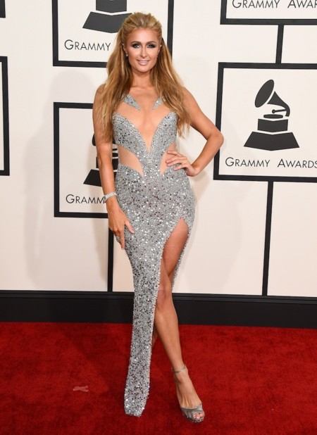 Paris Hilton Grammy 2015 1