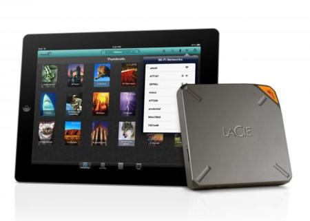 LaCie Fuel, disco duro inalámbrico compatible con Airplay