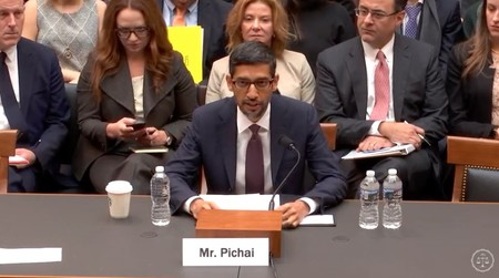 Sundar Pichai, CEO de Google, ante el Congreso de EEUU, en cinco momentos clave