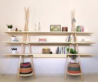 Tipi, el sistema modular de estanterías para los que cambian de casa con frecuencia