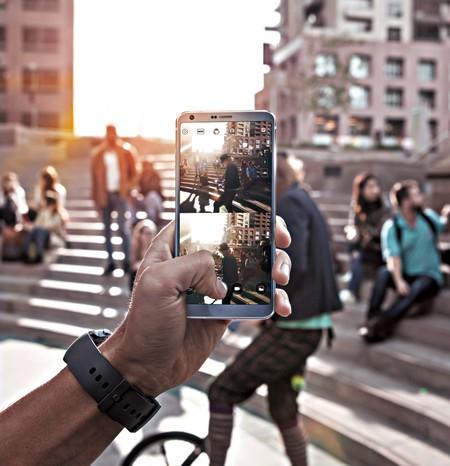 Doble pantalla, ¿doble eficiencia? Con estas app del LG G6, sí