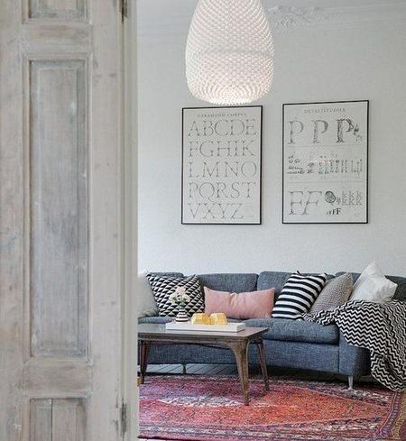 ¿Combinamos bien alfombras y tapicerías?