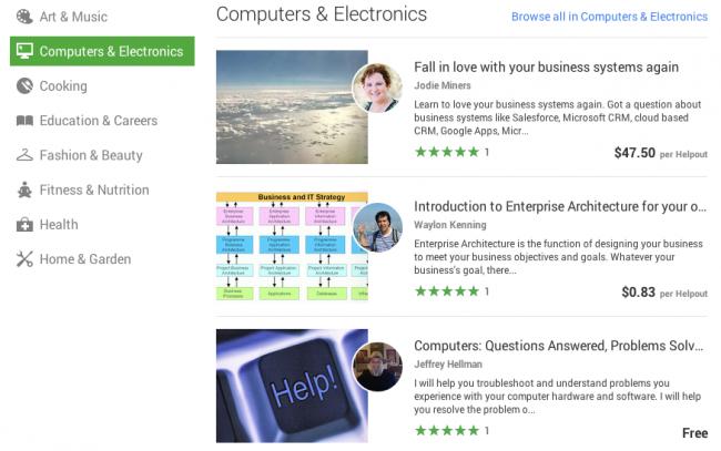 Google Helpouts ya disponible: clases y sesiones a distancia a través de Hangouts