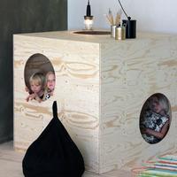 La minimalista colección de muebles infantiles Luona In del arquitecto Takkunen