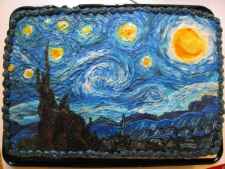 Tarta Noche Estrellada