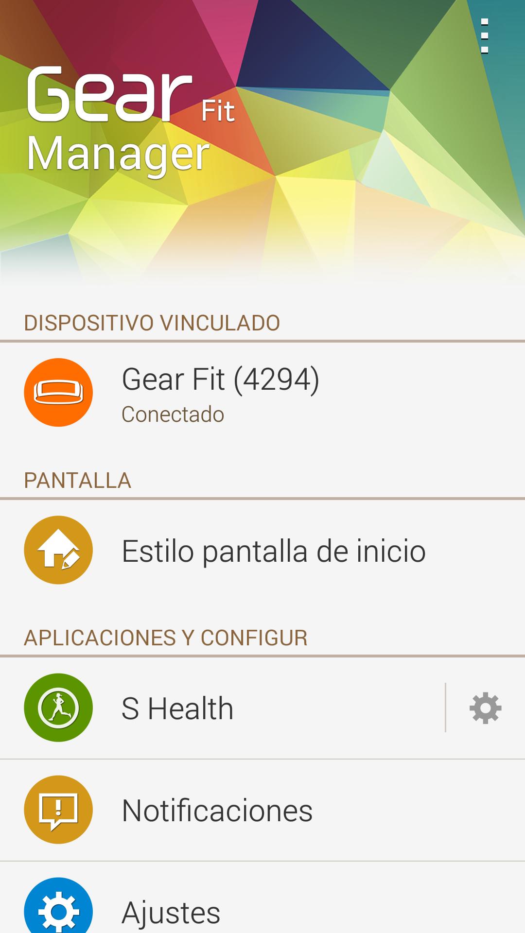 Foto de Capturas aplicación GEar Fit (8/18)
