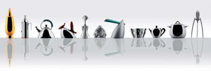 Miniaturas decorativas de los electrodomésticos de Alessi
