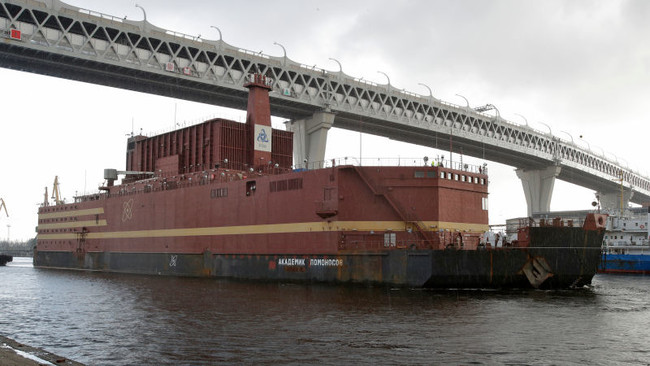Russia Floating Nuclear Power Plant 3