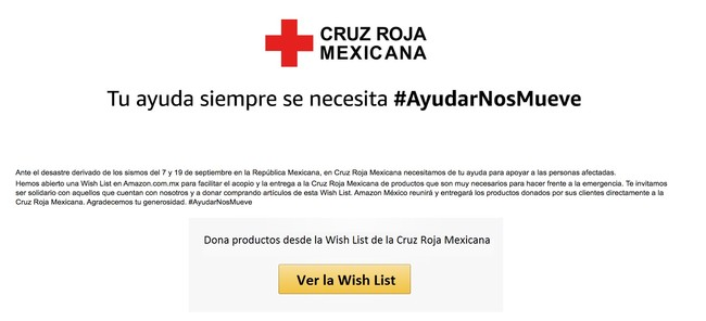 Cruz Roja Mexicana En Amazon