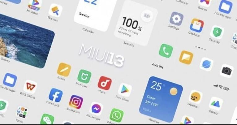 MIUI 13 vuelve a filtrarse dejándonos ver sus widgets y también la lista de teléfonos Xiaomi, POCO y Redmi que actualizarán