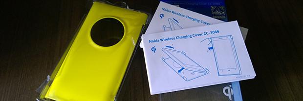 Carga inalámbrica Nokia Lumia 1020