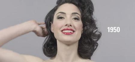 El timelapse que refleja el cambio de moda en el peinado femenino en 100 años