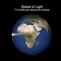 Viajar a la velocidad de la luz por el Sistema Solar puede ser extremadamente lento, y estas animaciones de la NASA lo demuestran