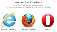 Facebook deja de recomendar Chrome para que Opera ocupe su lugar