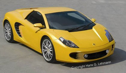 ¿El nuevo Lotus Esprit sería así?