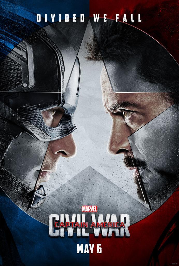 Foto de 'Capitán América: Civil War', primeros carteles (1/3)