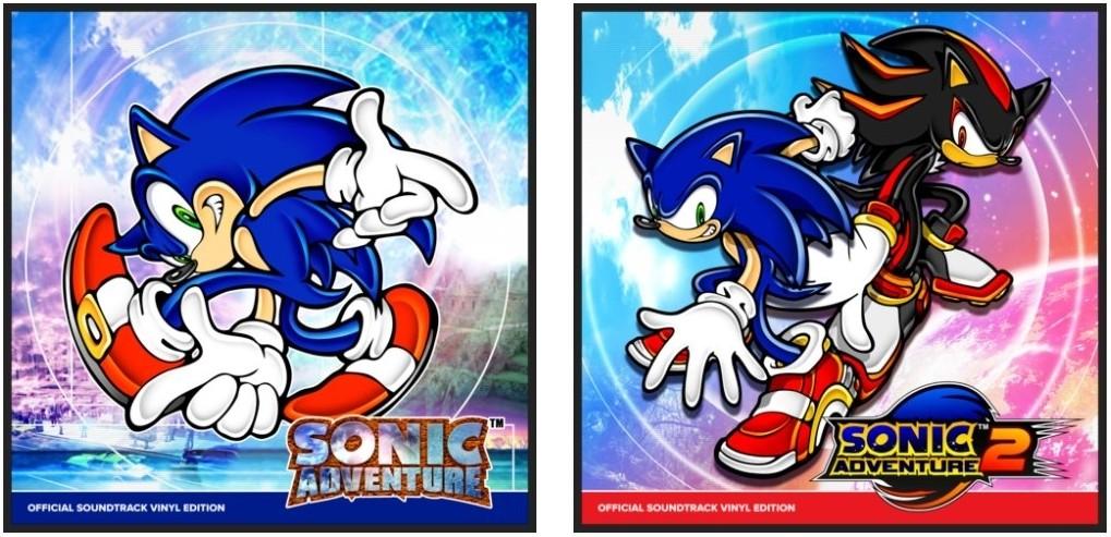 Sonic Adventure Vinilos